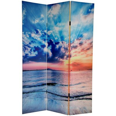 Sunrise 3 Panel Room Divider