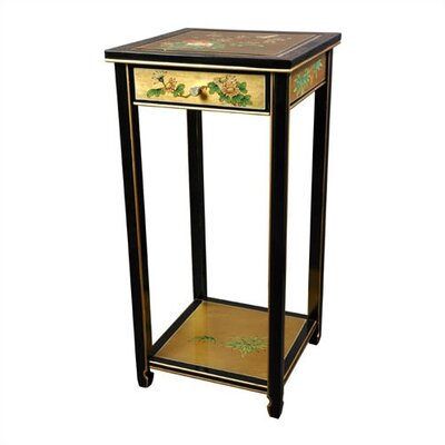 Oriental Multi-Tiered Plant Stand Color: Gold