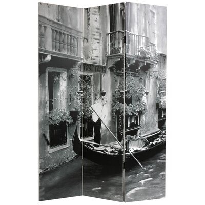 Goodsell Scenes of Venice 3 Panel Room Divider
