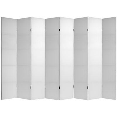 Sanderlin Room Divider Number of Panels: 6