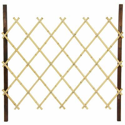 3.3 ft. x 3.3 ft. Diamond Fence Finish: Natural