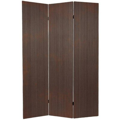 Sanroman 3 Panel Room Divider Color: Black