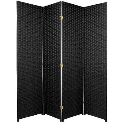 San Rafael 4 Panel Room Divider Color: Black