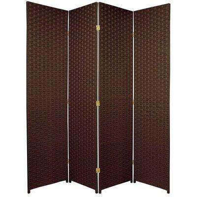 San Rafael 4 Panel Room Divider Color: Dark Mocha