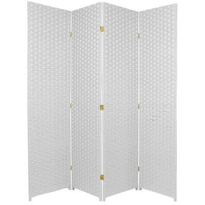 San Rafael 4 Panel Room Divider Color: White