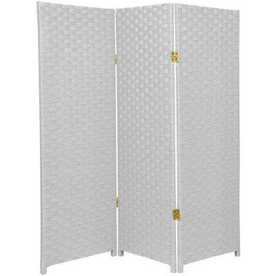Sanderling 3 Panel Room Divider Color: White