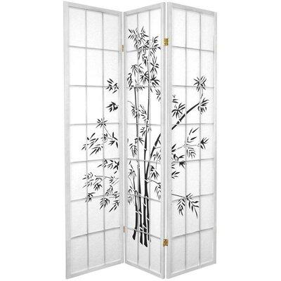 Sanfilippo 3 Panel Room Divider Color: White