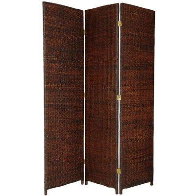 Fickes Room Divider Color: Dark Brown, Number of Panels: 3