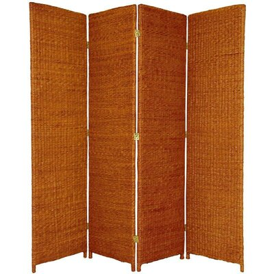 Fickes Room Divider Color: Honey, Number of Panels: 4