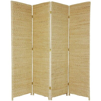 Fickes Room Divider Color: Natural, Number of Panels: 4
