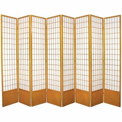 Marissa Shoji 8 Room Divider Finish: Honey