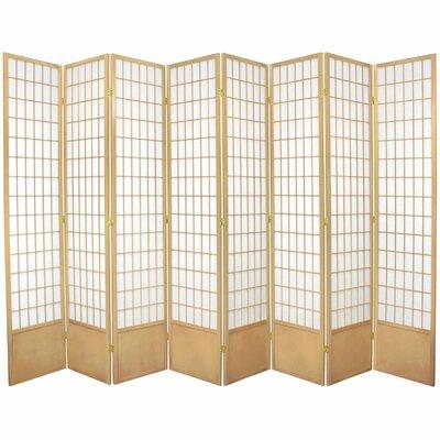Marissa Shoji 8 Room Divider Finish: Natural