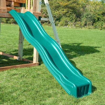 Cool Wave 7 Foot Slide Color: Forest Green