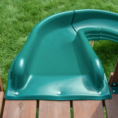 Side Winder Slide Color: Forest Green