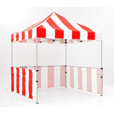 Impact Instant Canopy Carnival 8 Ft. W x 8 Ft. D Canopy