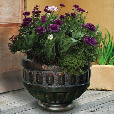 Round Chalice Premium Cast Stone Pot Planter