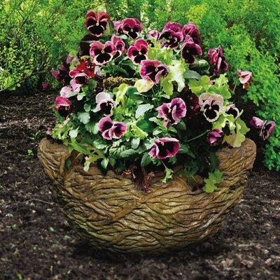 Nest Premium Cast Stone Pot Planter