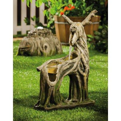 Polystone Woodland Deer Resin Fountain
