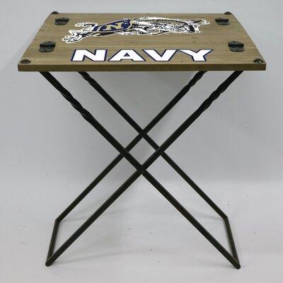 """20"""" Rectangular Folding Table NCAA Team: U.S. Naval Academy"""