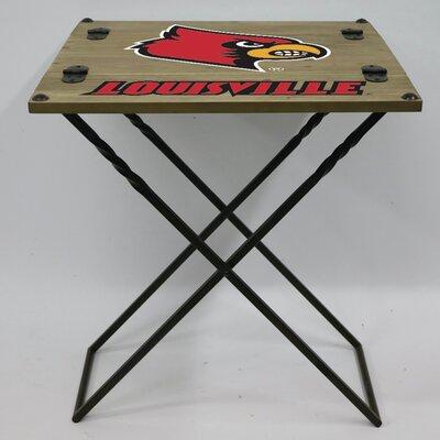 """20"""" Rectangular Folding Table NCAA Team: University of Louisville"""