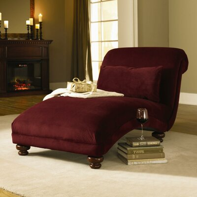 West Chaise Lounge Upholstery: Belsire Berry