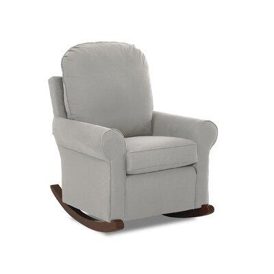 Suffolk Rocking Chair Body Fabric: Sunbrella Spectrum Carbon