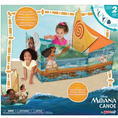Moana Wayfinder Canoe Play Tent