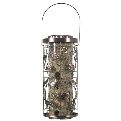 Copper Meadow Seed Tube Bird Feeder