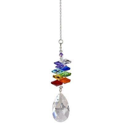 Firmin Crystal Ice Cascade Almond Color: Rainbow