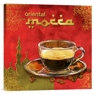 Global Gallery 'Finest Mocca' by Skip Teller Graphic Art on Wrapped Canvas