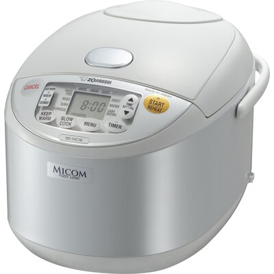 Micom Umami Rice Cooker and Warmer Size: 10 Cup