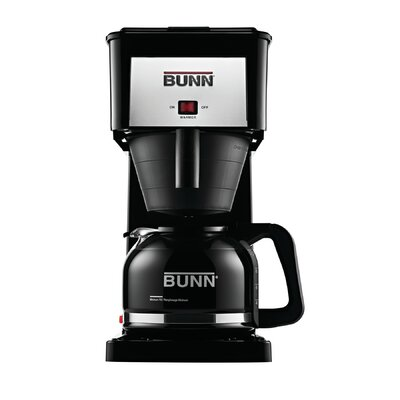 GR Velocity Brew 10 Cup Home Brewer Color: Black, Type: Standard