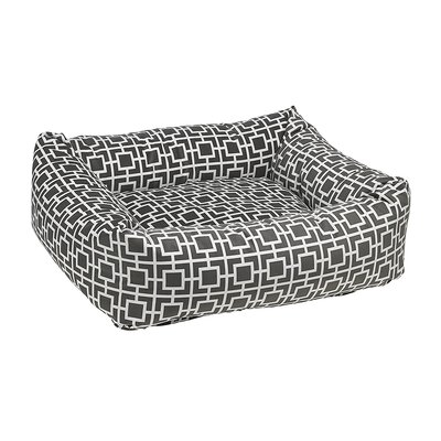 "Dutchie Dog Bed Size: Small - 21"" L x 19"" W, Color: Gray"