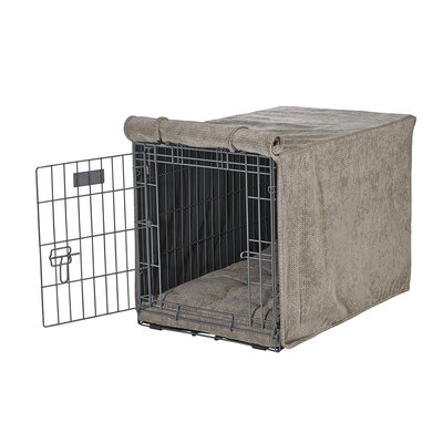 "Luxury Crate Cover Size: XX-Large (33"" H x 30"" W x 48"" L), Color: Cappuccino"