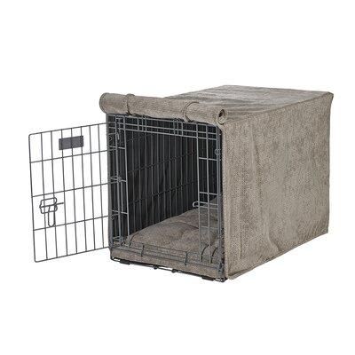 "Luxury Crate Cover Size: Medium (21"" H x 19"" W x 30"" L), Color: Cappuccino"