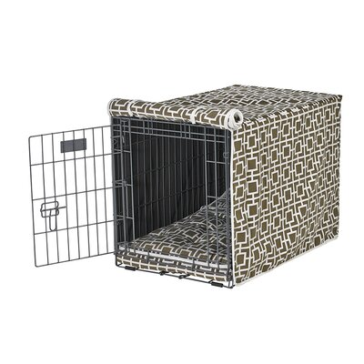 "Luxury Crate Cover Size: Large (25"" H x 23"" W x 36"" L), Color: Taupe"