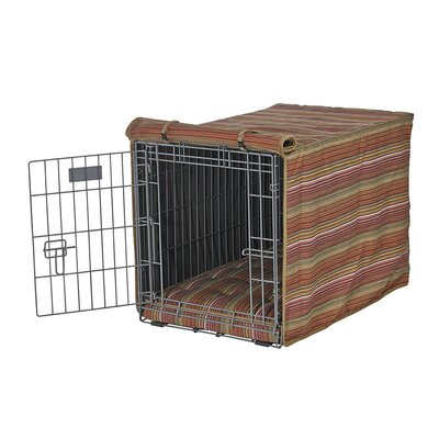 "Luxury Crate Cover Size: Medium (21"" H x 19"" W x 30"" L)"