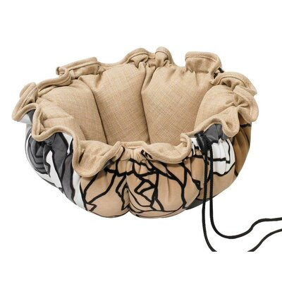 "Buttercup Nest Dog Bed Size: Small (24"" L x 24"" W), Color: Tranquility"