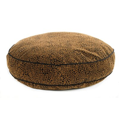 """Super Soft Round Dog Pillow Size: Small (28"""" L x 28"""" W), Color: Urban Animal"""