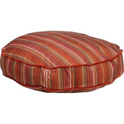"Super Soft Round Dog Pillow Size: Small (28"" L x 28"" W), Color: Jester"