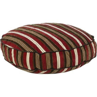 "Super Soft Round Dog Pillow Size: Medium (36"" L x 36"" W), Color: Boswer Stripe"