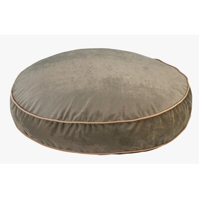 """Super Soft Round Dog Pillow Size: Small (28"""" L x 28"""" W), Color: Thyme"""