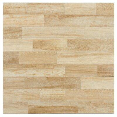 """Prospero 17.75"""" x 17.75"""" Ceramic Wood Tile in Haya"""