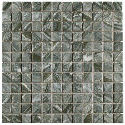 "Amelia 0.88"" x 0.88"" Porcelain Mosaic Tile in Gray"