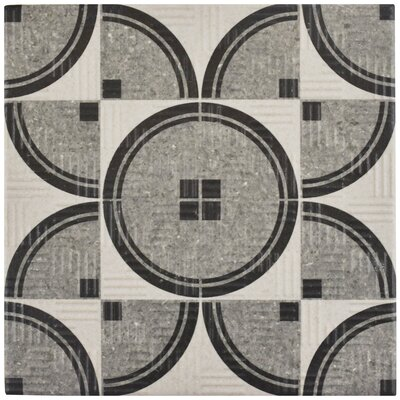 """Region 6"""" x 6"""" Porcelain Field Tile in Light Gray"""