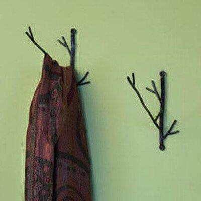 Ancient Graffiti Twig Wire Coat Hook
