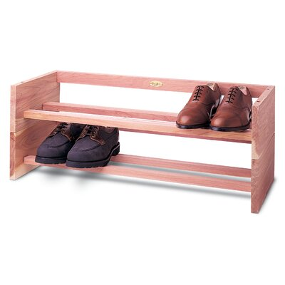 Large Single 1-Tier 5 Pair Shoe Rack