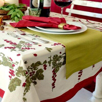 Couleur Nature Gooseberry Tablecloth