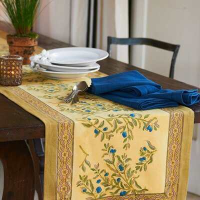 Couleur Nature Olive Tree Table Runner