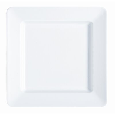G.E.T Milano Square Plate in White